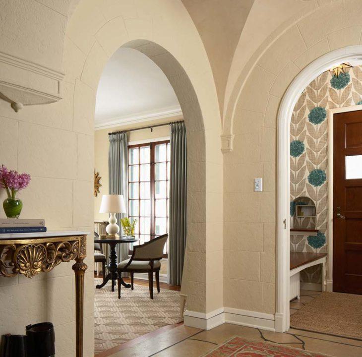 Interior Design  arched doorways